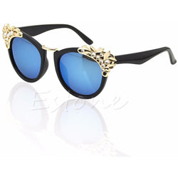 New 2018 Classic Vintage Jewelry Flower Rhinestone Sunglasses - Aladdin's Treasures