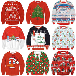 Ugly Christmas Sweaters - Aladdin's Treasures