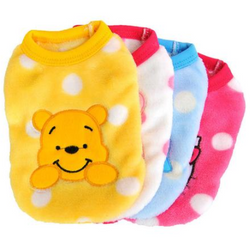 Cartoon Small Dog Fleece Clothes - Aladdin's Treasures
