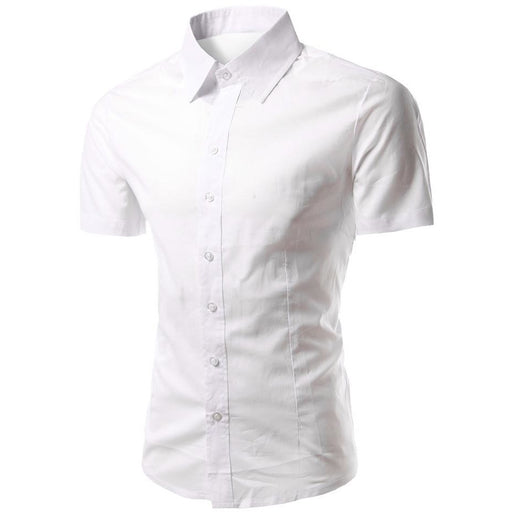 2018 Summer Multi-function Business Casual Slim Fit Shirts - Aladdin's Treasures