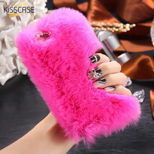 Chic Fluffy Case For iPhone
