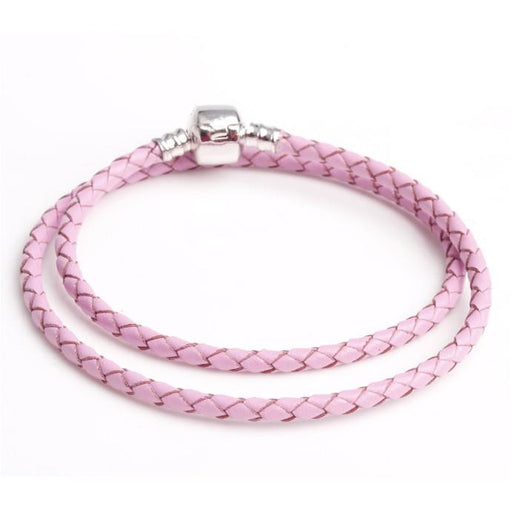 Romantic Pink Chain Bracelet - Aladdin's Treasures