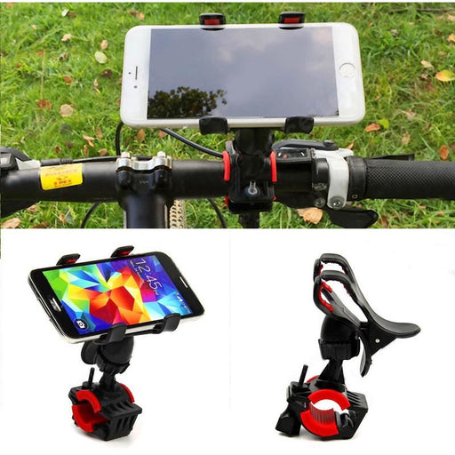Universal Safe Bicycle Handlebar Phone Holder - Aladdin's Treasures