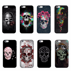 Retro Sugar Skull iPhone Cases - Aladdin's Treasures