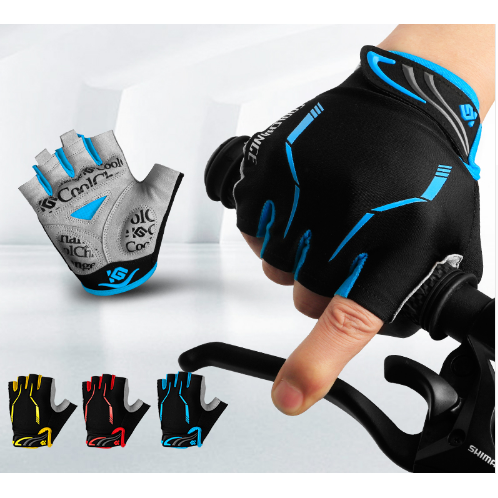 Half Finger Shockproof Cycling Gloves - Aladdin's Treasures