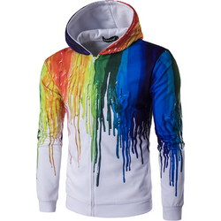 2018 Splash Painted Hoodies - Aladdin's Treasures