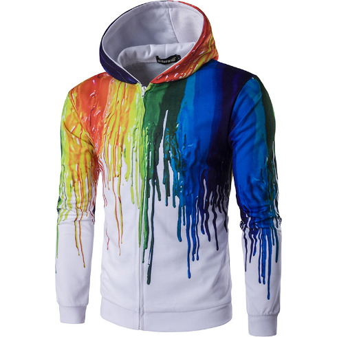 2019 Splash Painted Hoodies - Aladdin's Treasures