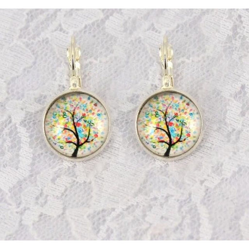Vintage Tree of Life Earrings - Aladdin's Treasures