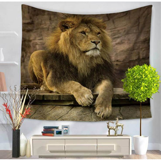 Just Hanging - Lion Wall Art - Aladdin's Treasures