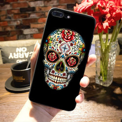 Beautiful Sugar Skull iPhone Cases - Aladdin's Treasures
