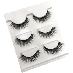 Natural Looking Long 3D Mink  Eyelashes - Aladdin's Treasures