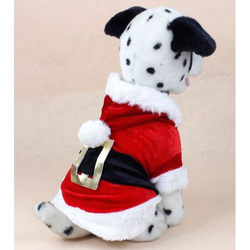 Cute Santa Claus Hoodie for Puppy - Aladdin's Treasures