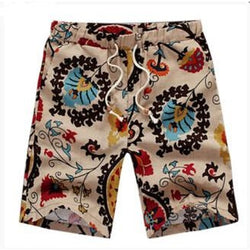 Summer Vintage Beach Shorts - Aladdin's Treasures