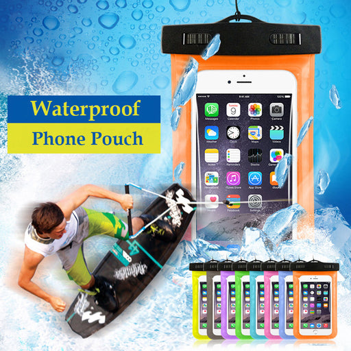 Universal Waterproof Case Covers with Strap for iPhone - Aladdin's Treasures