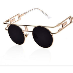 Metal Vintage Steampunk Sunglasses - Aladdin's Treasures