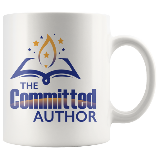 Committed Author Collector's White Mug - Aladdin's Treasures