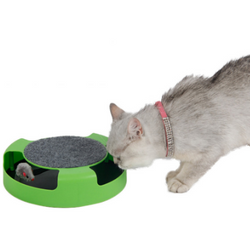 Cat Scratch Pad with Mouse track - Aladdin's Treasures