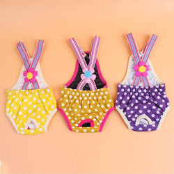 Patterned Strap Panties for Dogs - Aladdin's Treasures