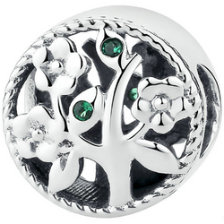 Sterling Silver Tree of Life Bead Charm - Aladdin's Treasures