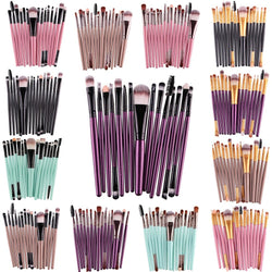 Professional 15-Piece Makeup Brush Set - Aladdin's Treasures