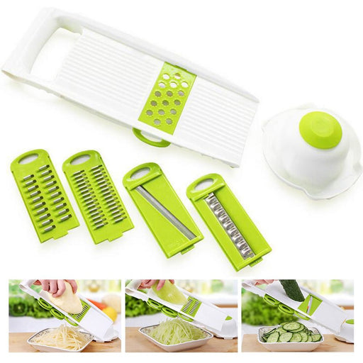 7Pcs set Mandoline Vegetable Slicer - Aladdin's Treasures