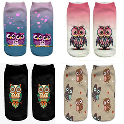 New Owl Socks - Aladdin's Treasures