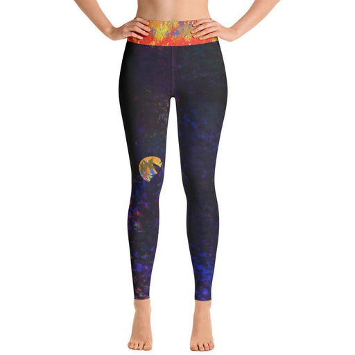 Exclusive Custom-Designed Yoga Leggings - Aladdin's Treasures