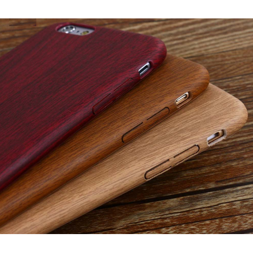 Vintage Wood Texture Leather Cases For iPhone