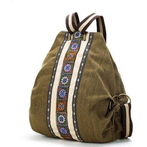 Tribal Embroidered Floral Backpacks - Aladdin's Treasures