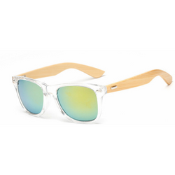 Bamboo Designer Wood Sunglasses - Aladdin's Treasures