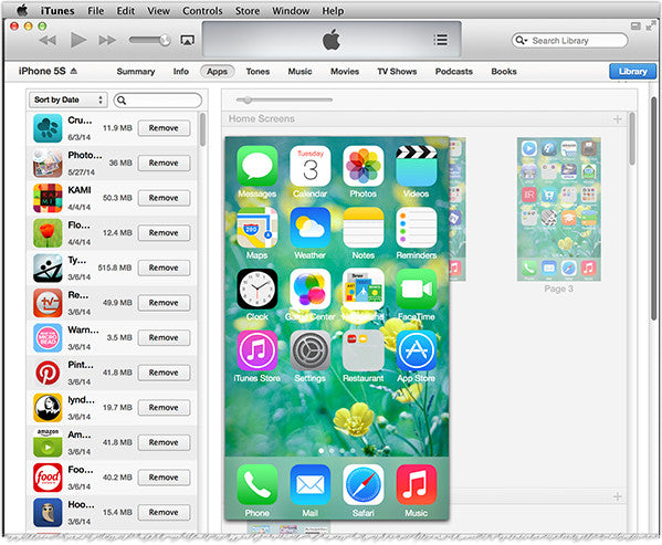 Organizing Apps organizing and arranging iphone and ipad apps using itunes