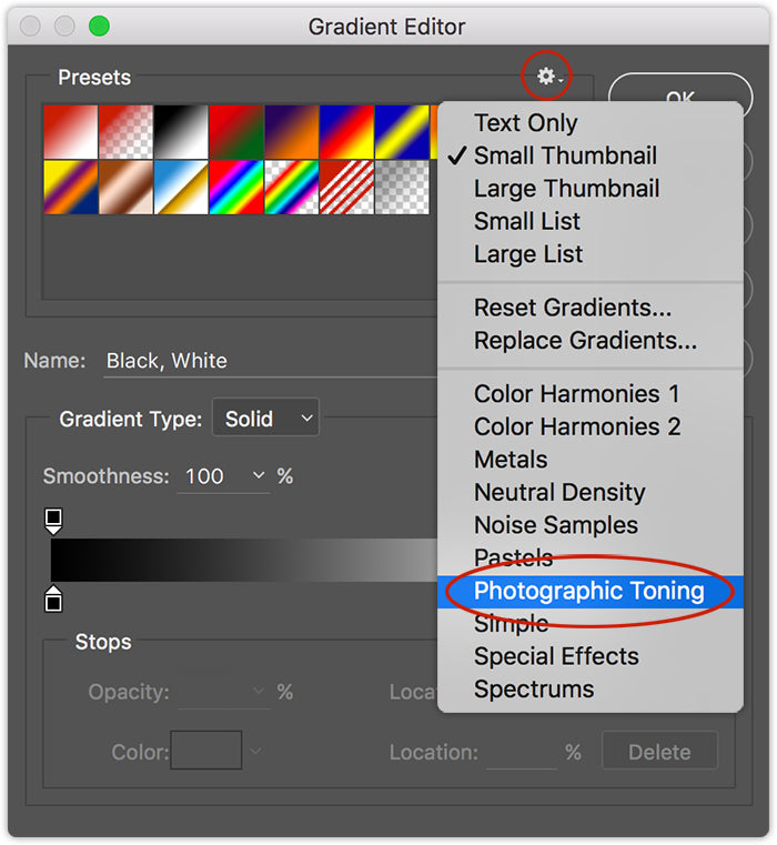 1-click Toning Effects in Photoshop