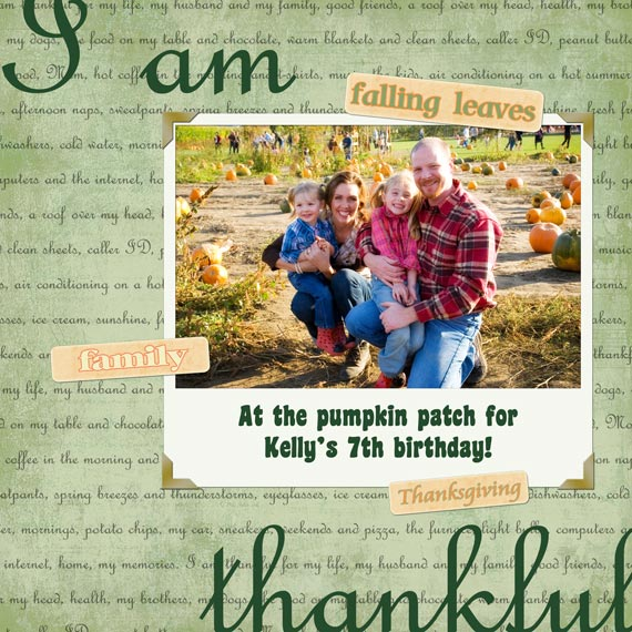 holiday digital scrapbooking