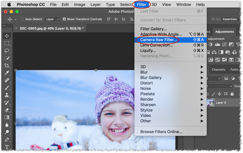 crazy quick white balance fix in photoshop