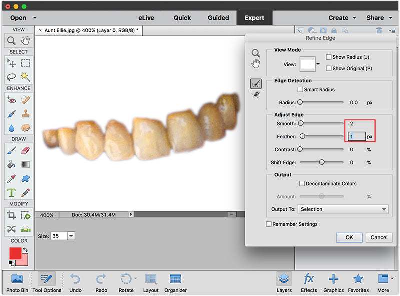 How to Whiten Teeth in Photoshop and Elements