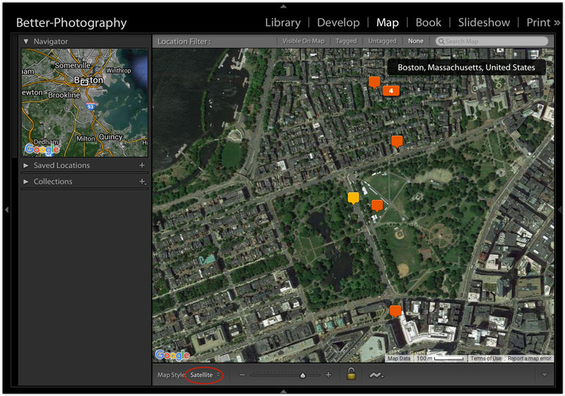 Mapping your Photos in Lightroom