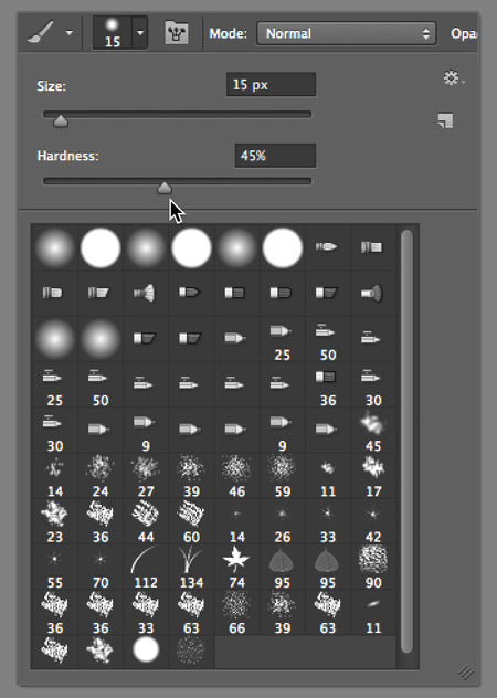 photoshop brush hardness3