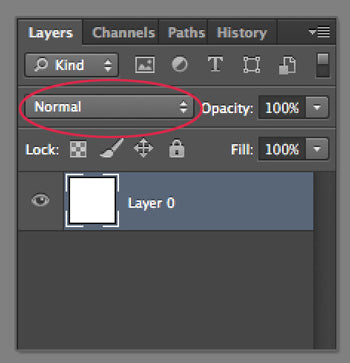 photoshop layers mode