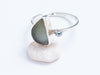 Sea-glass and Sterling Silver // Ring