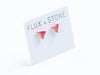 Ceramic Multicolore Studs // Earrings