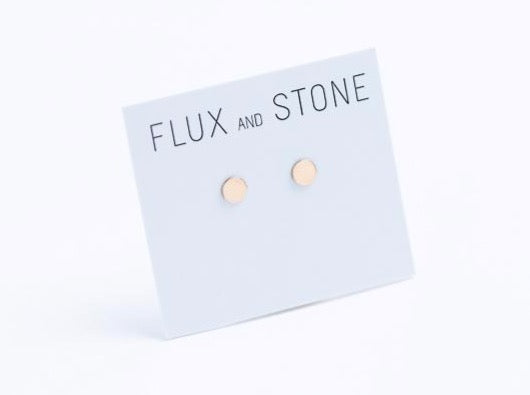 Gold Fill Disc Studs