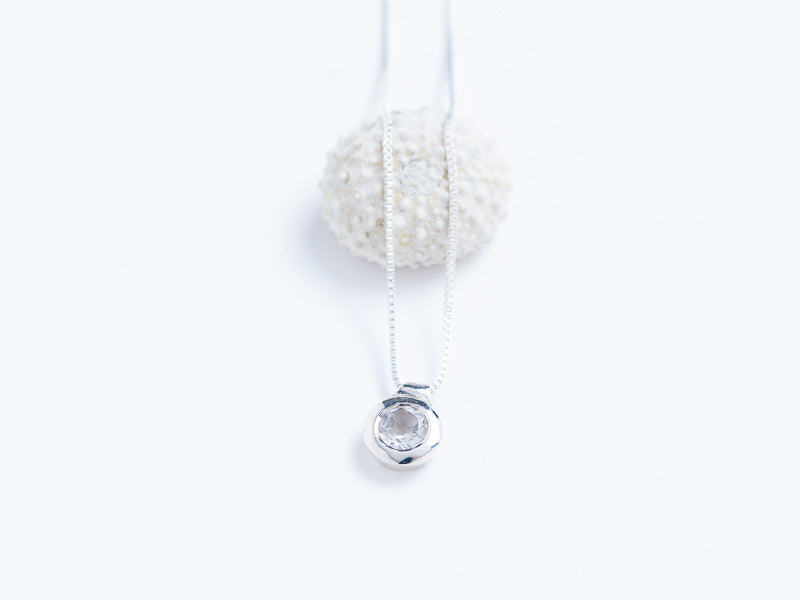 Solitaire Floating Pendant // Pendant