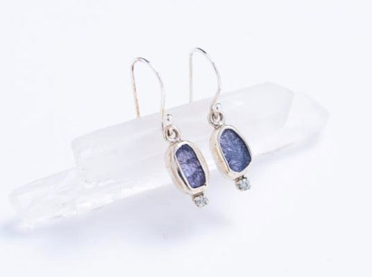Raw Gemstone Earrings // Earrings