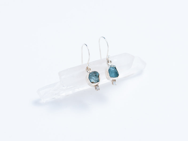 Raw Gemstone Earrings