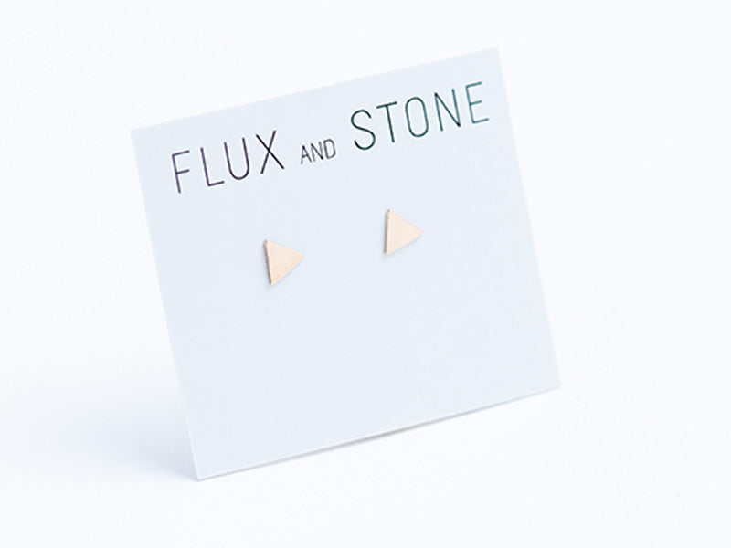 Geometrical Shaped Studs // Earrings