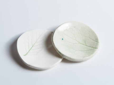 Ceramic Mini Dishes // Leaves