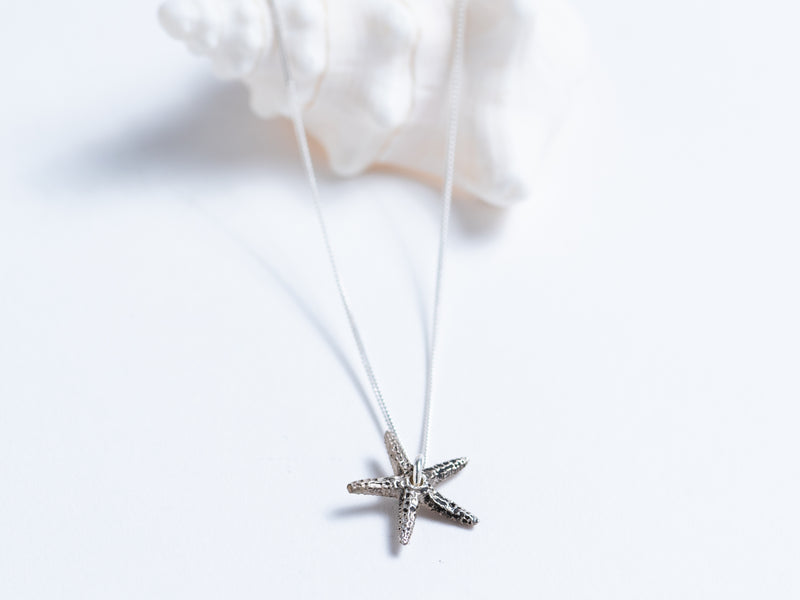 Cast Starfish // Pendant