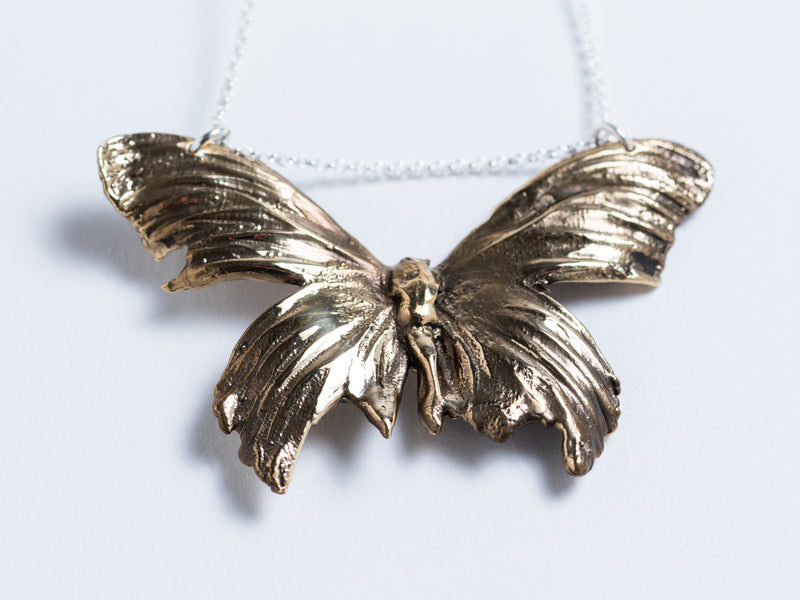 Cast Butterfly // Pendant