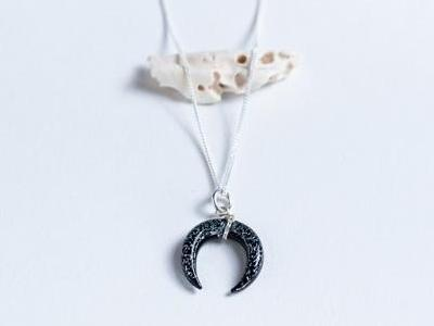 Moon Child // Crescent Moon Pendants Necklaces