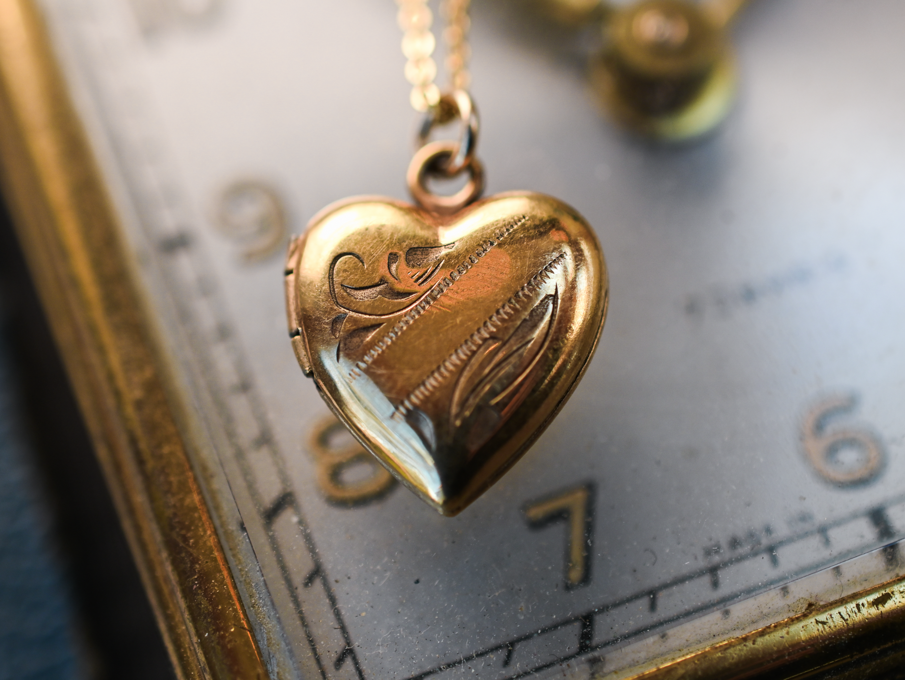 Vintage Gold Fill Locket